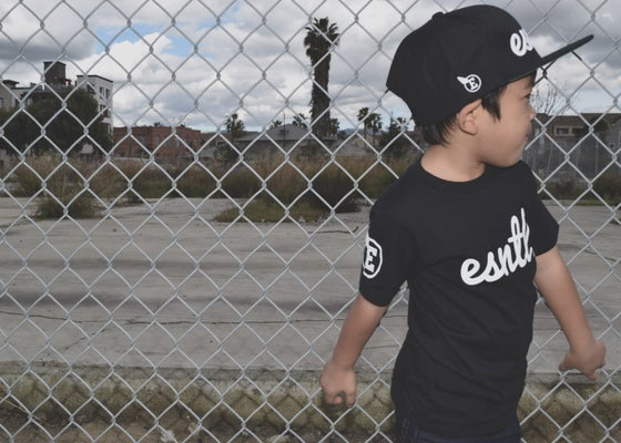"Image of ESNTL ""Kids"" tee"