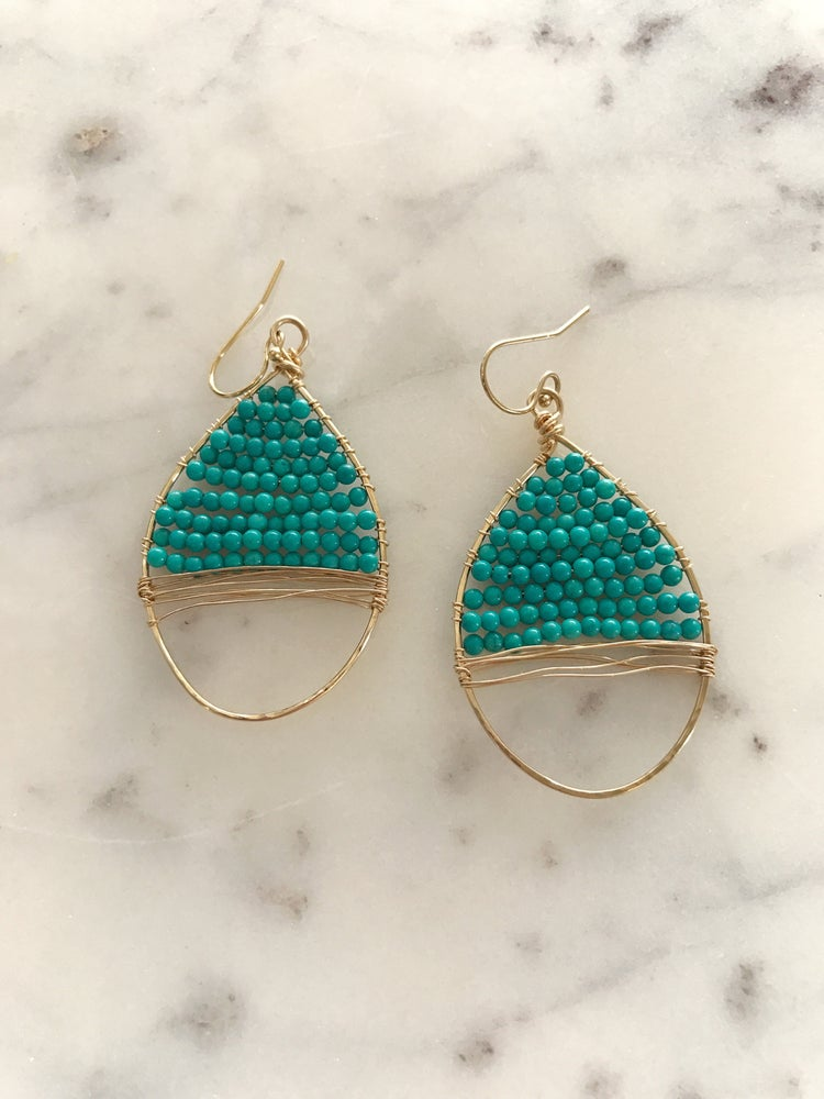 Image of Turquoise wraps