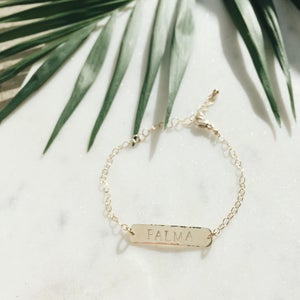 Image of Custom Bar Bracelet