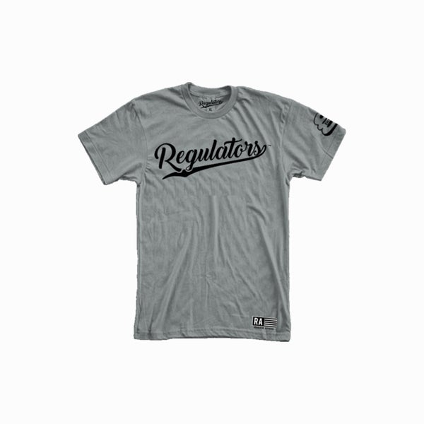 Image of REGULATOR GREY T-SHIRT