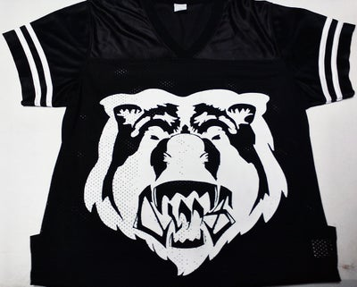 Image of Claas- Bear face female football jersey