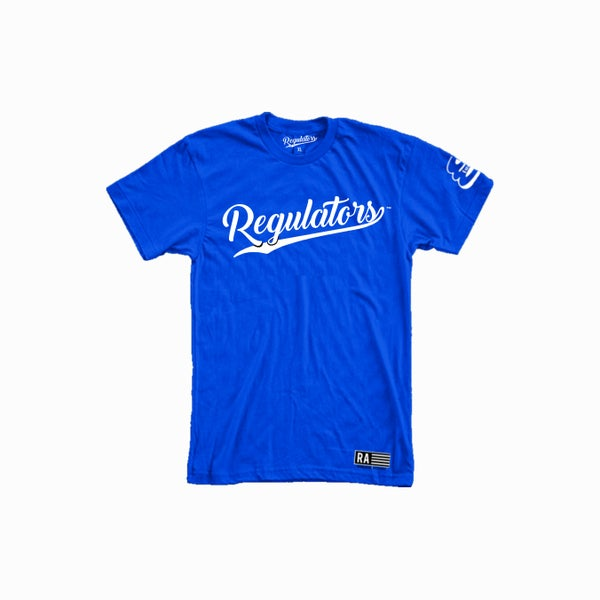 Image of REGULATOR BLUE T-SHIRT