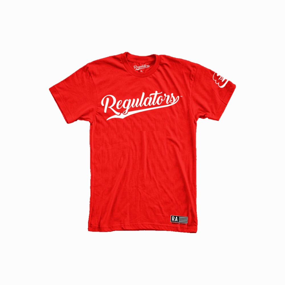 Image of REGULATOR RED T-SHIRT