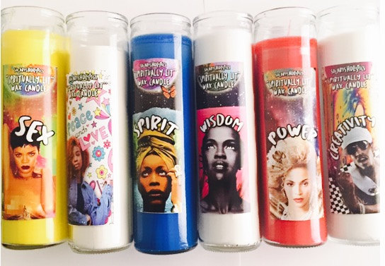 "Image of ""SPIRITUALLY LIT""  WAX CANDLES"