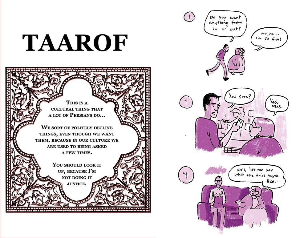 Image of Persian Version Digital Zine