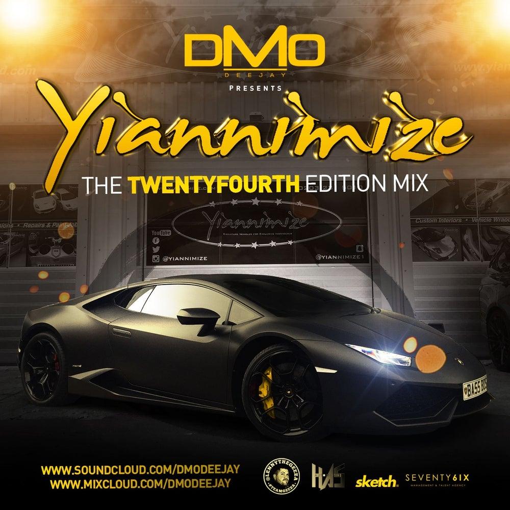 Image of Yiannimize Mix 24 Tracked CD