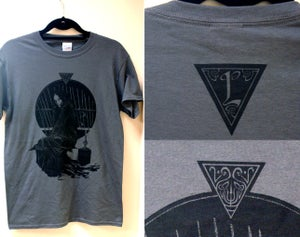 Image of 'The Black Pool' T-shirt
