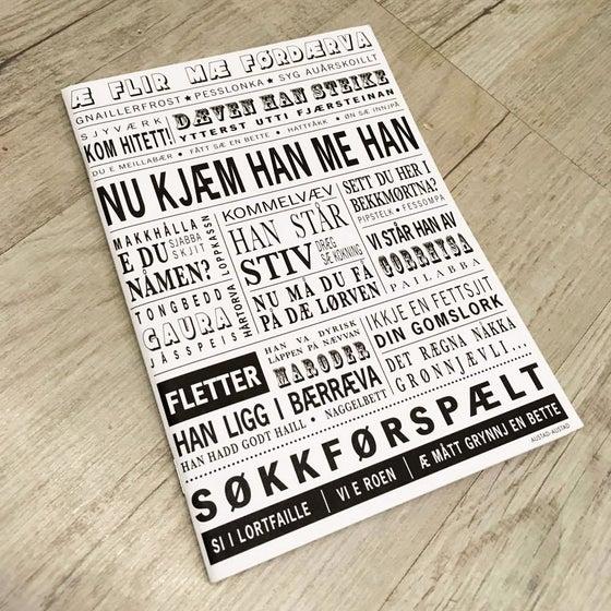 """Image of Notatbok """"Nu kjæm han me han"""" (Vesterålen)"""