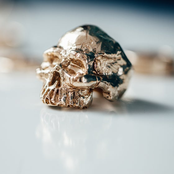 Image of Craggy Skull Ring