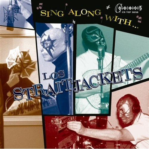 Image of LOS SRAITJACKETS ‎– SING ALONG WITH LOS STRAITJACKETS CD