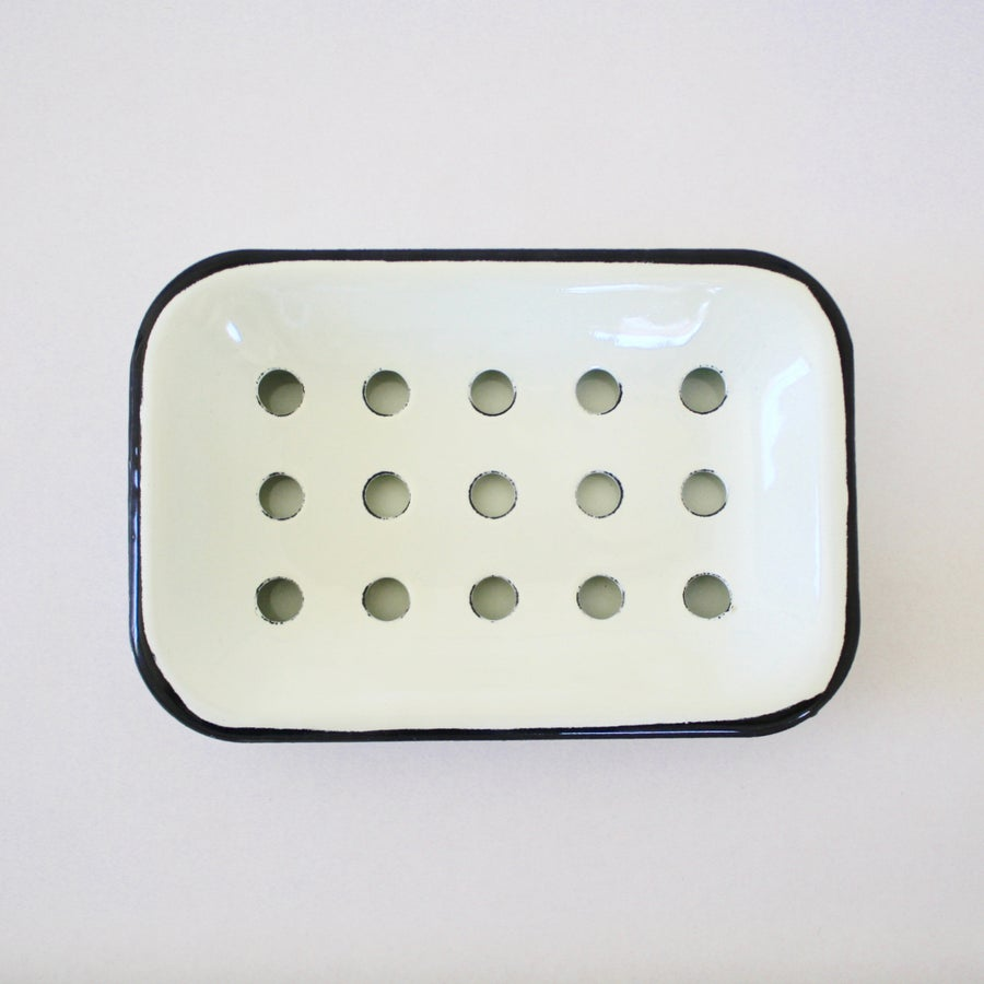 Image of Enamel Soap Dish
