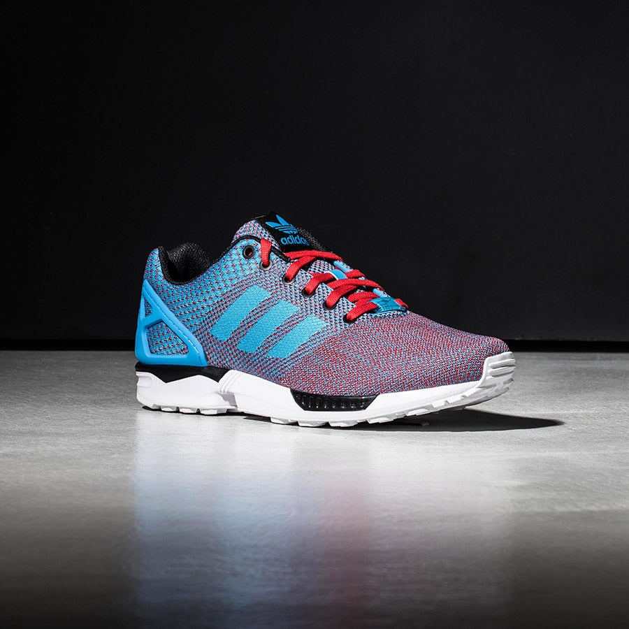 5bc1be712 Mens Adidas ZX Flux Weave Grey Grey Camo AQ2872 Sizes  UK 8.5