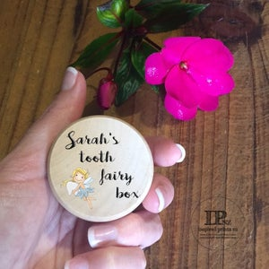 Image of Personalised Tooth Fairy Boxes