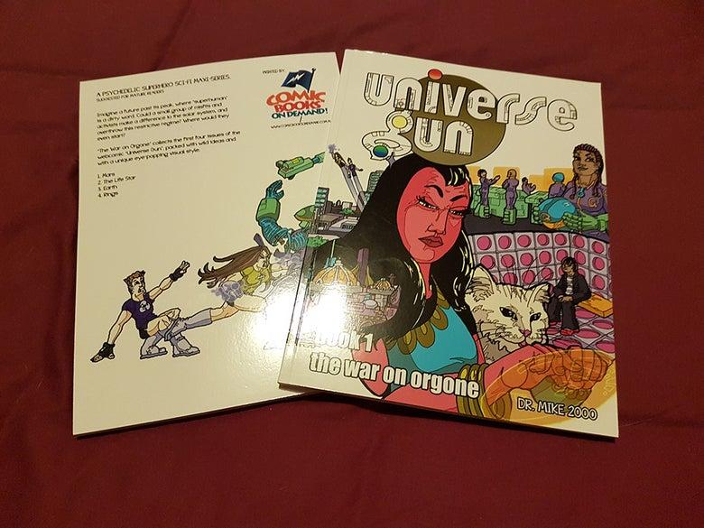 Image of Universe Gun Trade Paperback