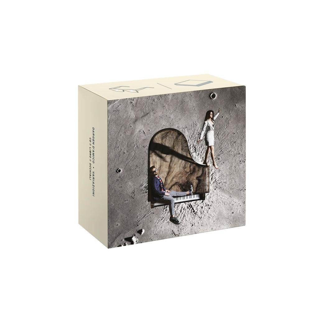 """Image of """"Variazioni"""" Box CD + LIBRO + OCCHIALI - Edizione Limitata"""