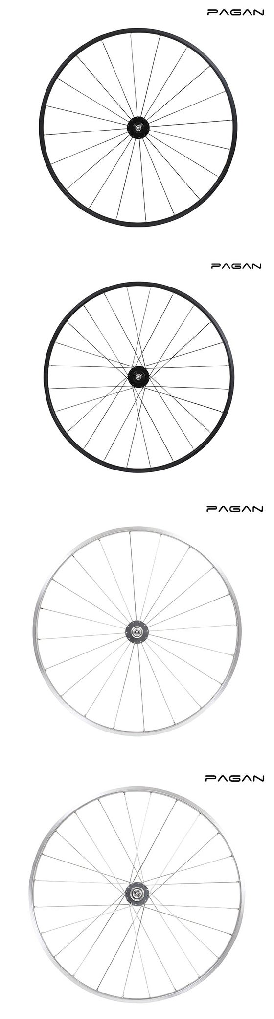 Image of PAGAN FIXED GEAR PISTA TRACK M14 Wheelset