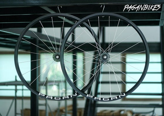 Image of PAGAN FIXED GEAR TRACK PISTA Mortar Wheelset