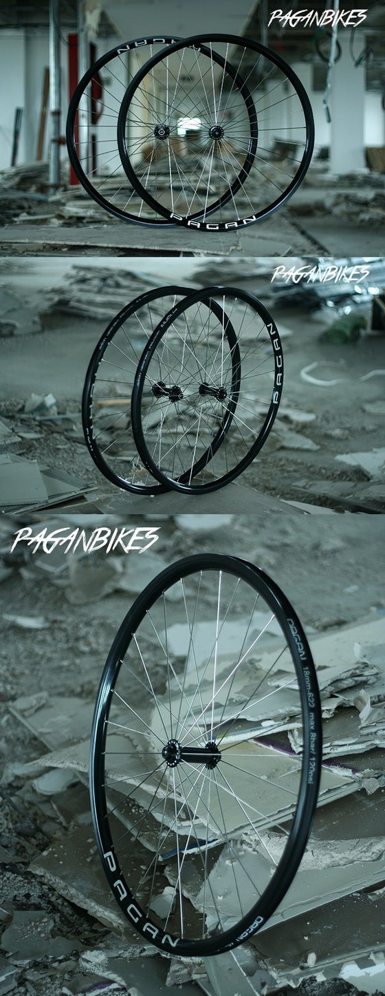 Image of PAGAN FIXED GEAR TRACK PISTA P-Street Wheelset
