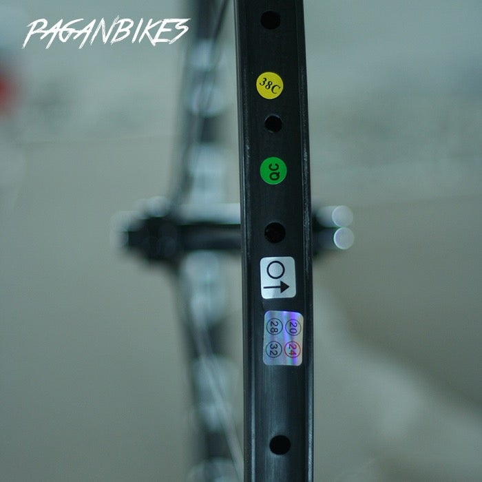 Image of PAGAN FIXED GEAR TRACK PISTA CSL 38 Wheel set