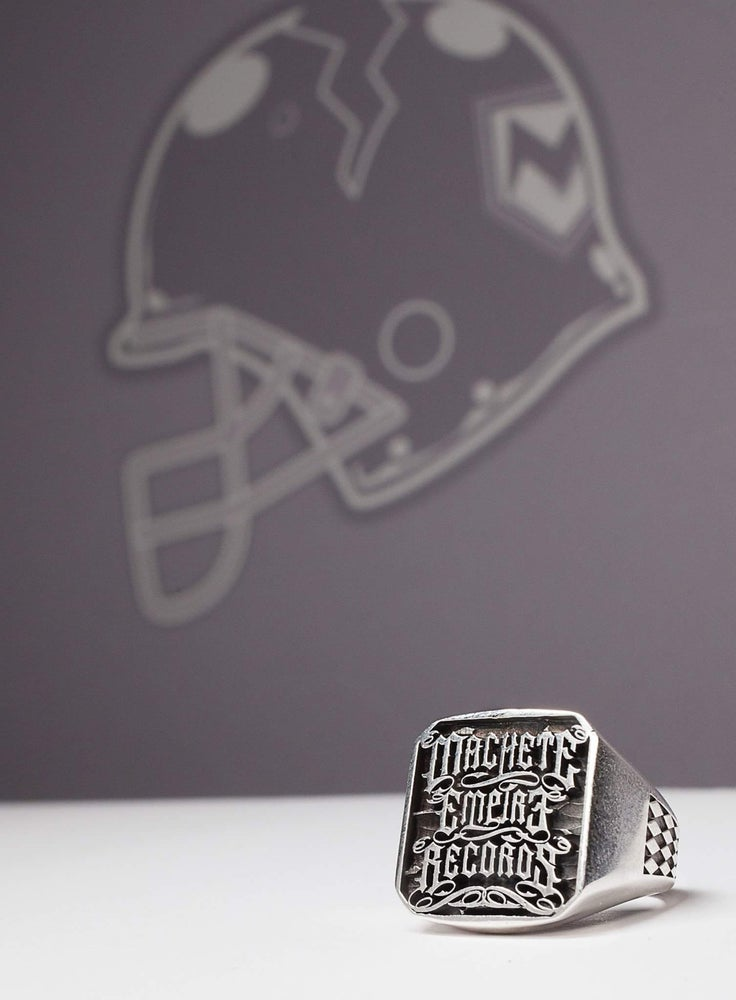 Image of Machete Silver Ring limited editions