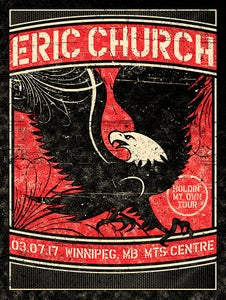 Image of Eric Church, Winnipeg, MB, 03.07.17