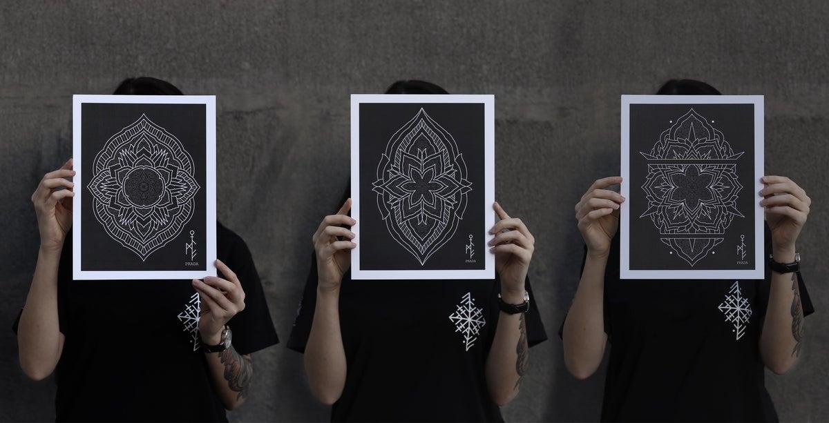 Home / PRADA BLACKWORK TATTOO