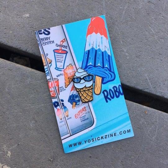 Image of Ice Cream Lapel Pin