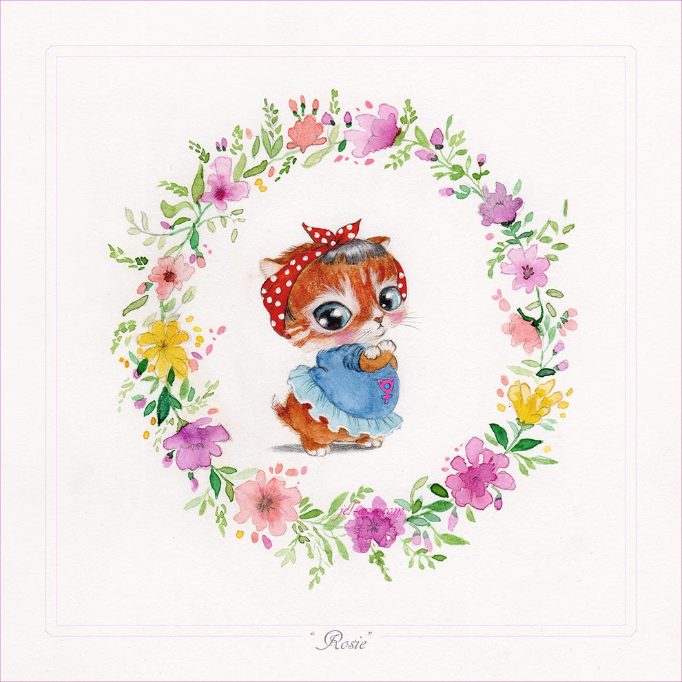 "Image of ""Rosie"" Limited Edition Print"