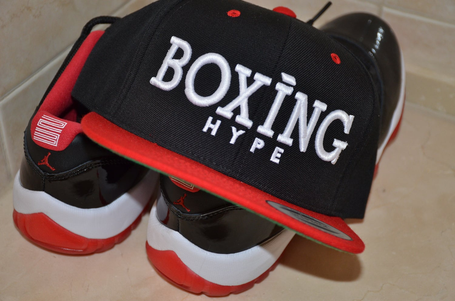 Image of Black BoxingHype muscle tees