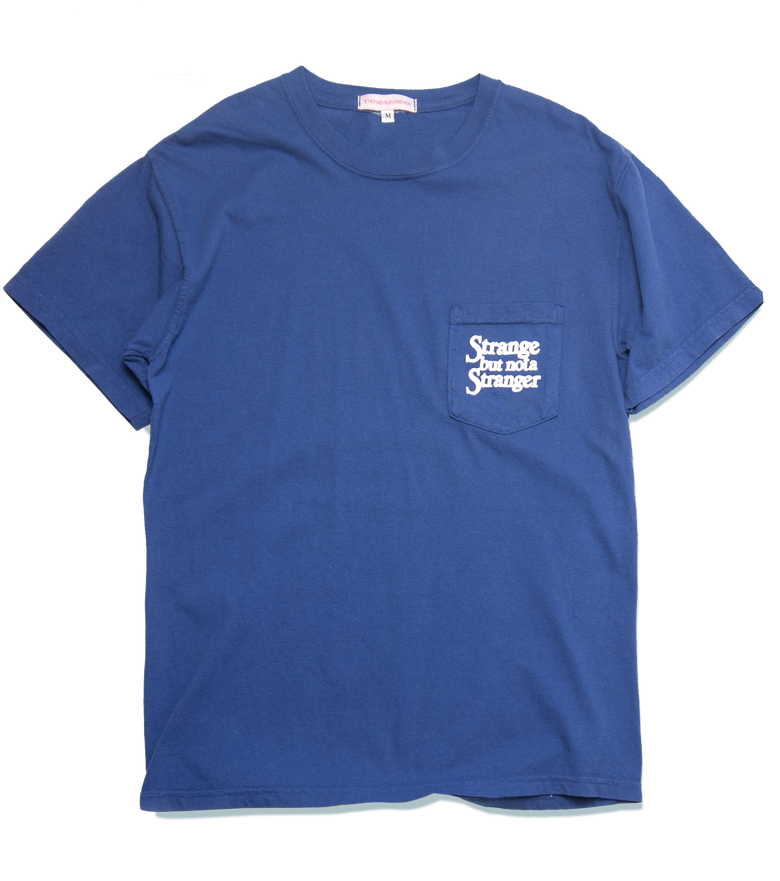 Image of Strange, but not, Pocket T, Blue