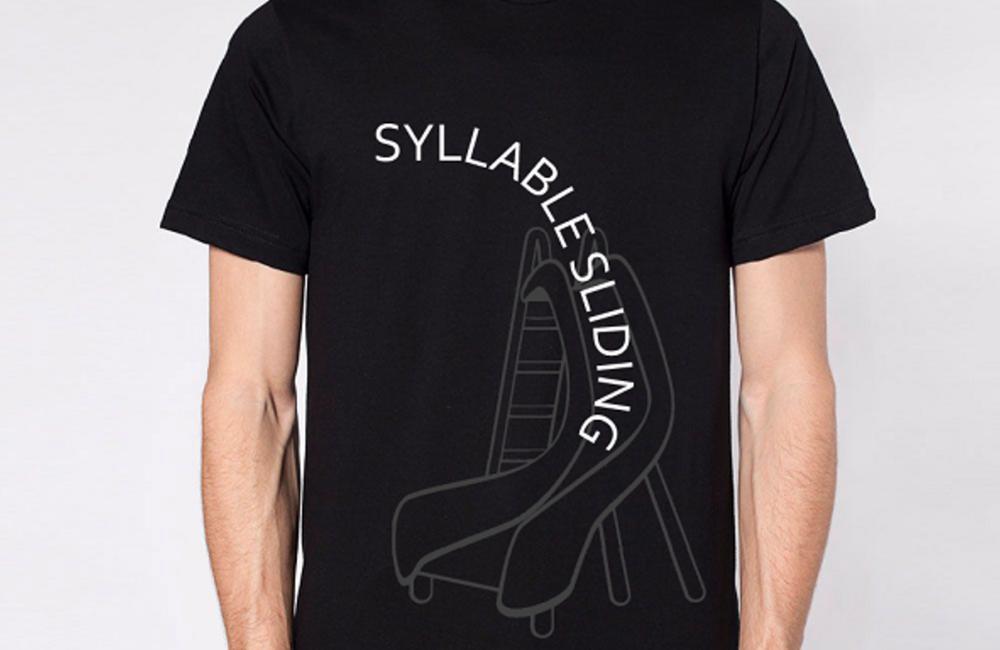 Image of Syllable Sliding T-Shirt