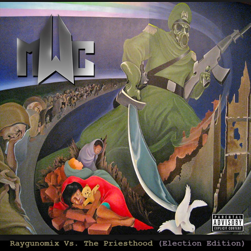 Image of M.W.C. - (2017) Raygunomix versus The Priesthood Album