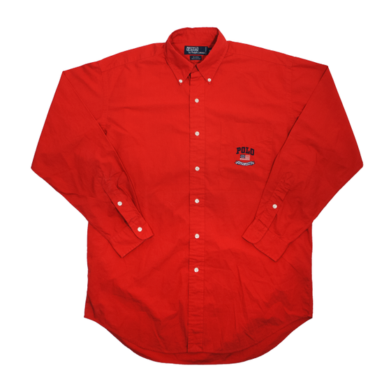 Image of Polo Ralph Lauren Vintage Red Shirt