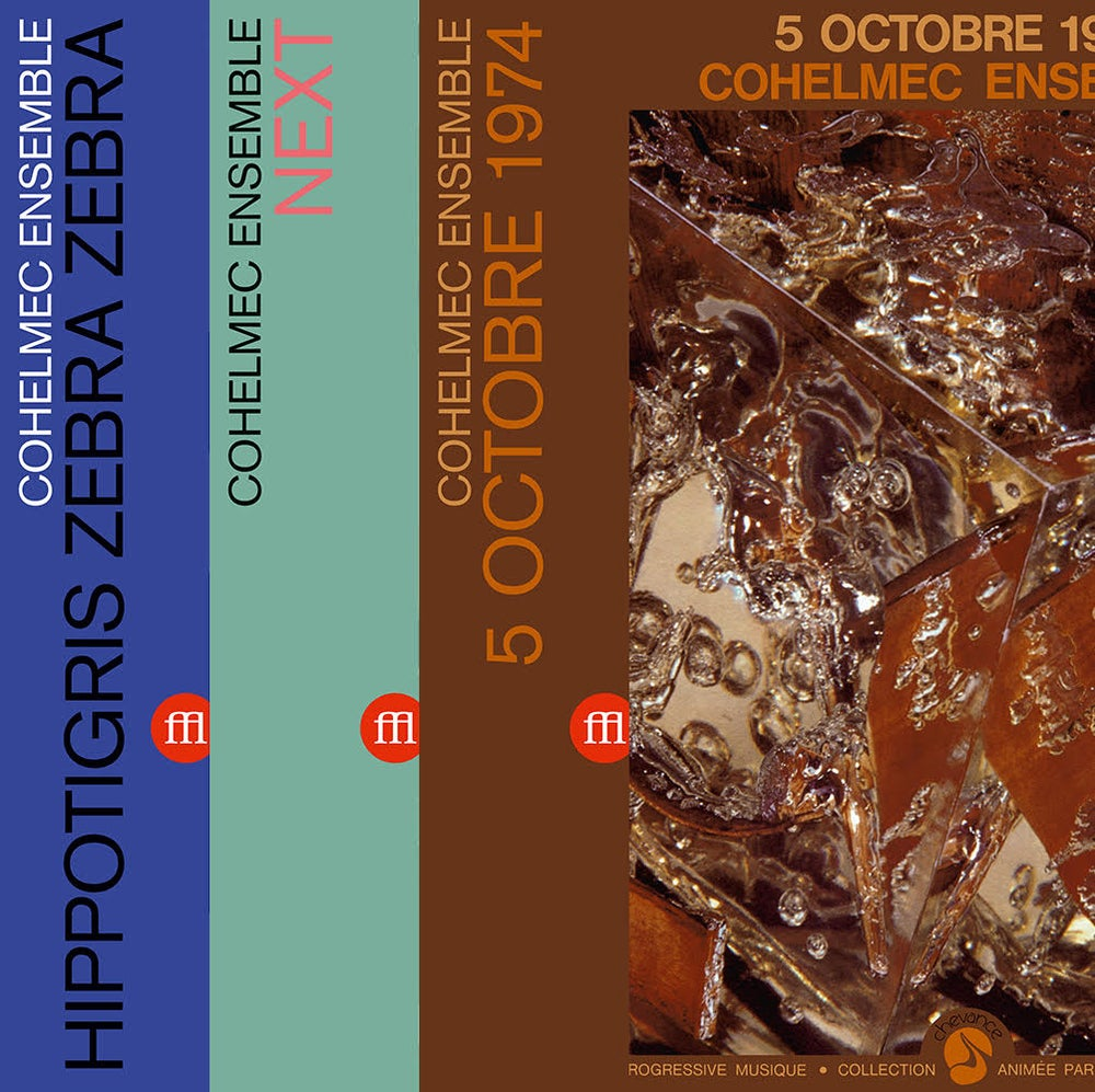 Image of COHELMEC ENSEMBLE - ALL THREE REISSUES BUNDLE