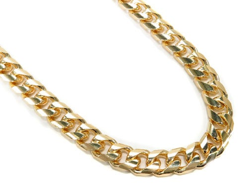 Image of 14k 9mm Cuban Link