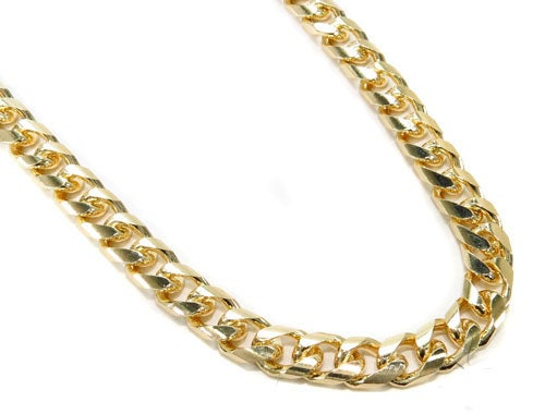 Image of 14k 7mm Cuban Link chain