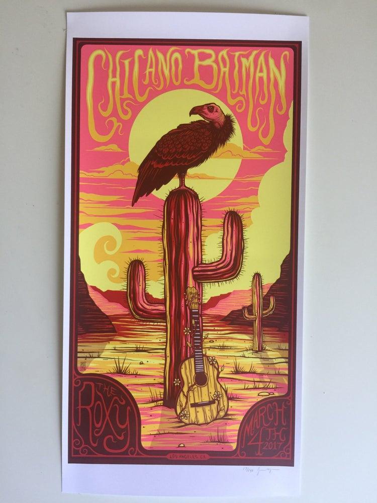 Image of Chicano Batman Roxy Theatre Poster