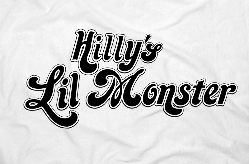 Image of HILLY'S LIL MONSTER TEE