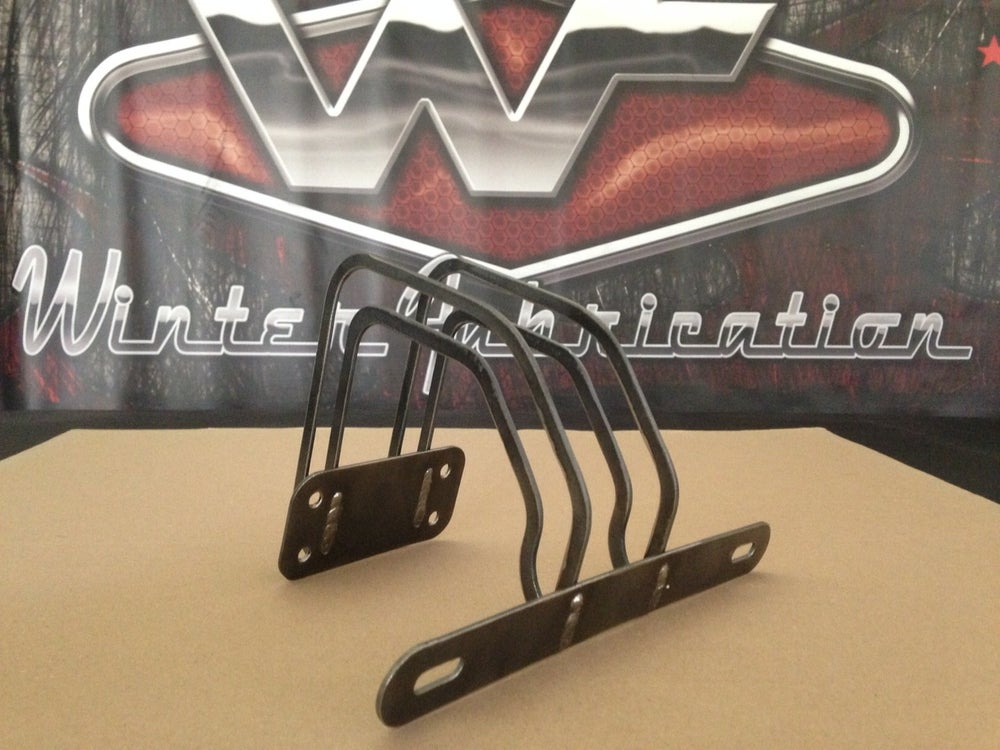 Image of Over Tailgate Plate Mount - Plain