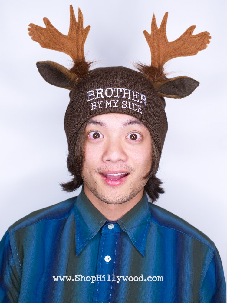 "Image of ""Brother By My Side"" Beanie"