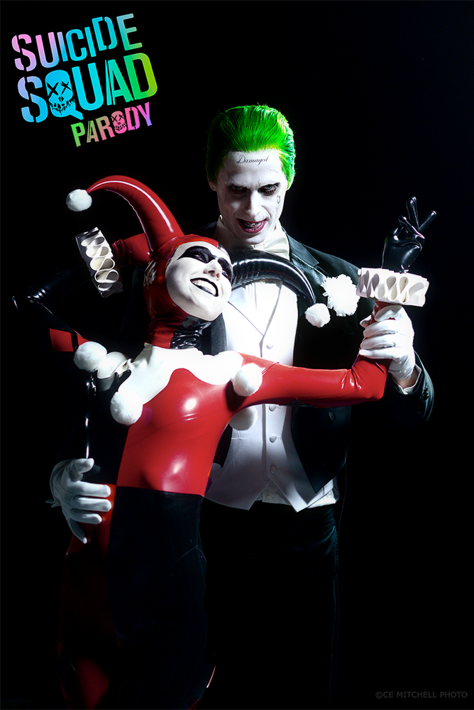 Image of Harley & Joker Autographed Photo