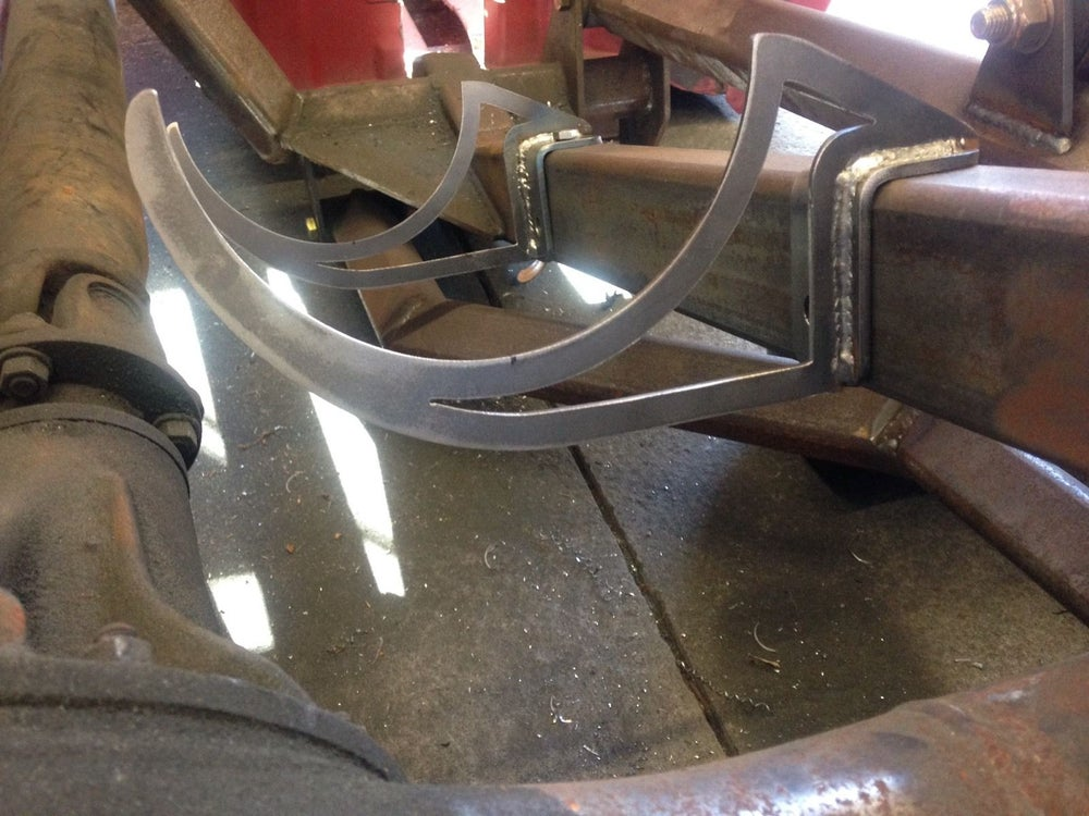 Image of Air Tank Brackets - Weld to Tank and Bolt to Frame