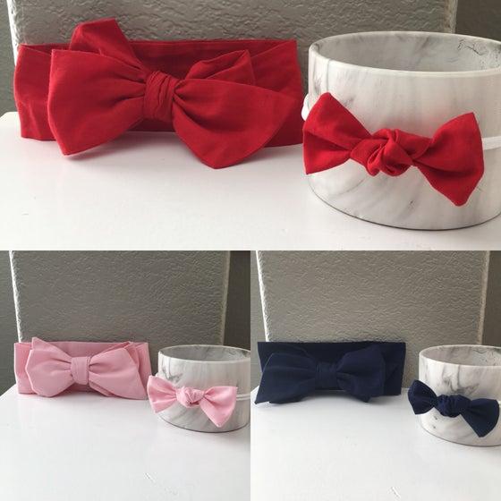 Image of Headwrap/Nylon headband Sets