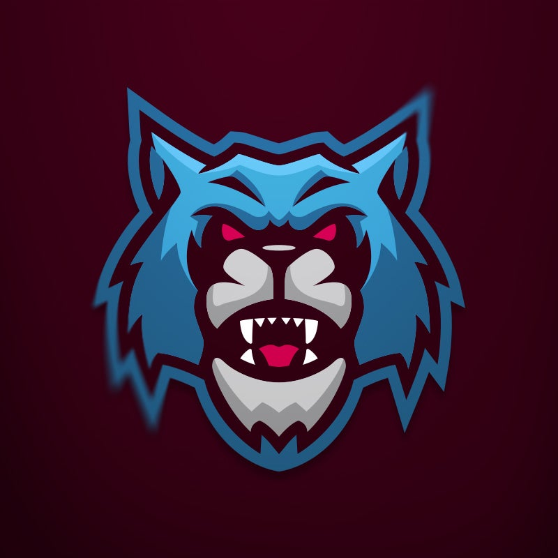 "Image of ""Blue WolfCat"" Logo - 1-Time Sale"