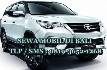 Image of Rental Sewa Mobil Fortuner Di Denpasar Bali