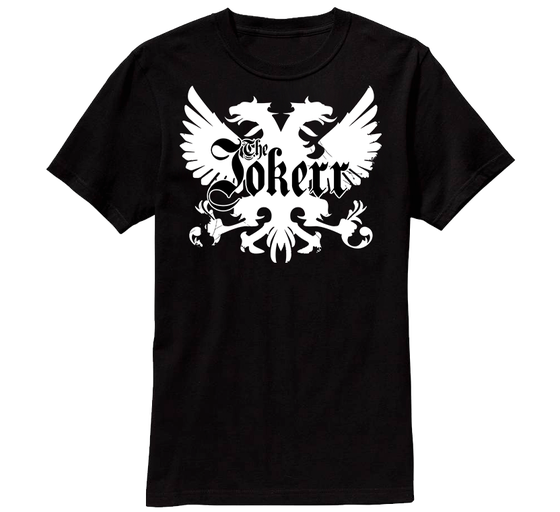 """Image of The Jokerr's """"Legacy Crest"""" Tee"""