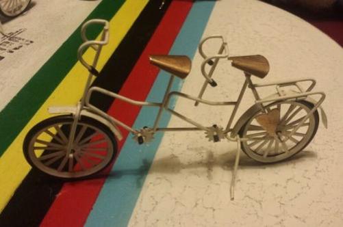 Image of Vintage Tandem Bicycle Model