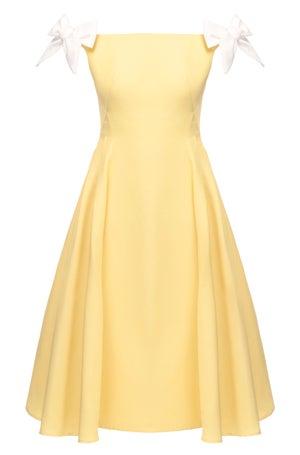 Veronica Dress (Yellow)  - Melissa Bui