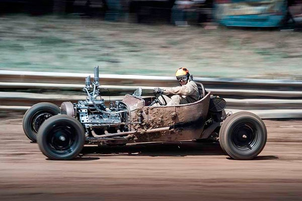 Image of DIRT TRACK RACER