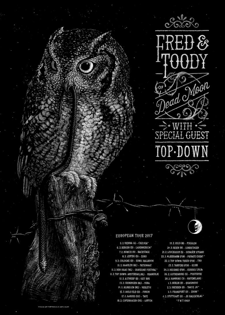 Image of »Fred & Toody« Gigposter